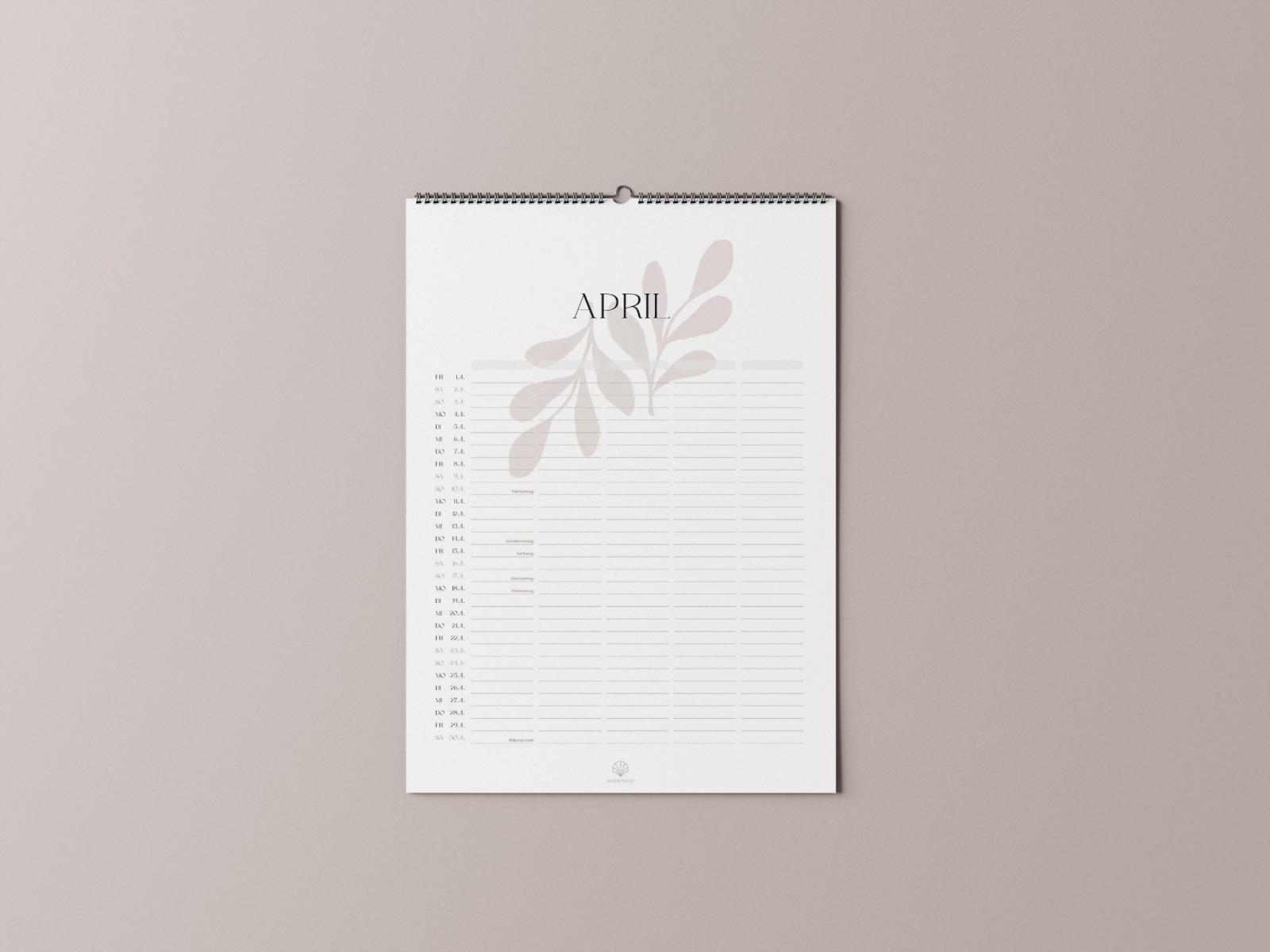 Familienkalender 2022 6
