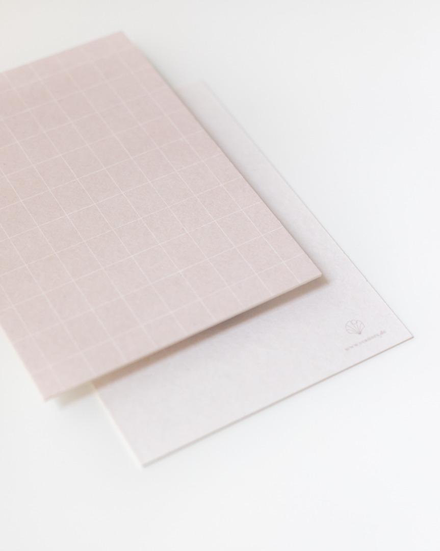 Postkarte Karo - extra dick
