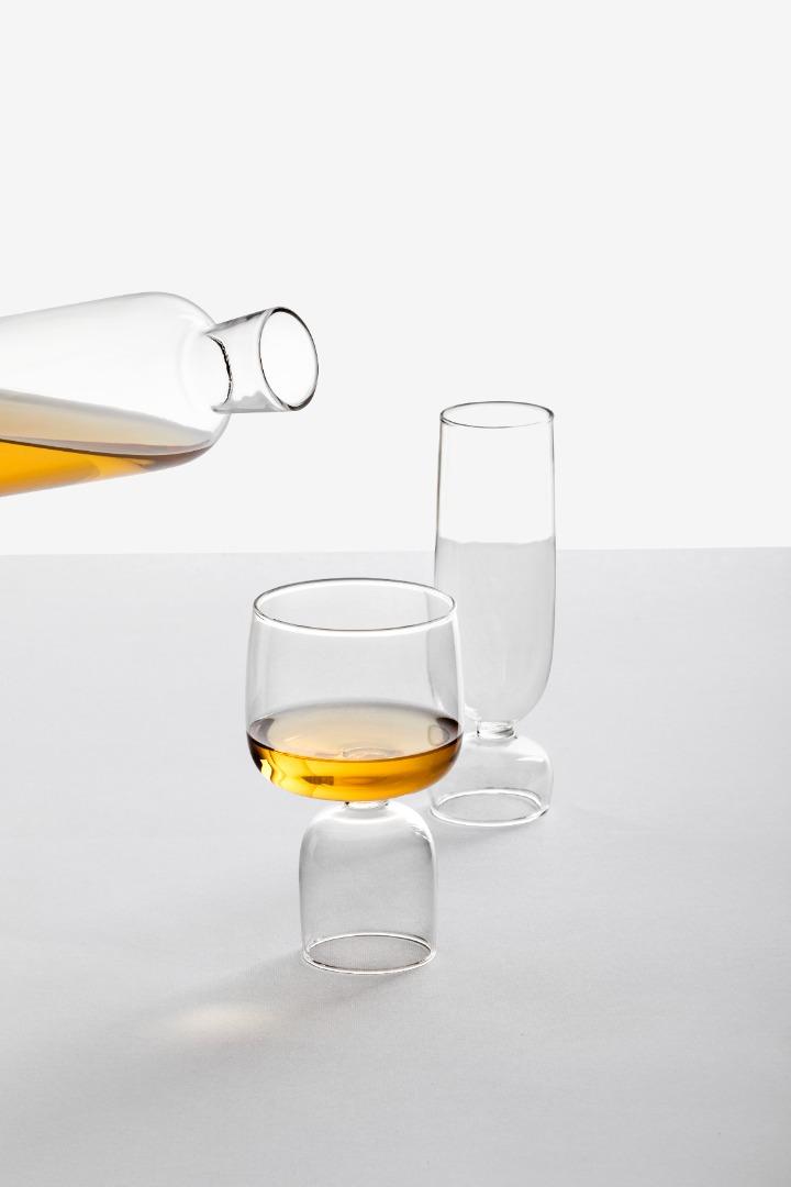 Kokeshi - Weinglas 2