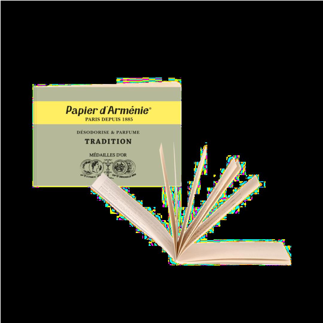 Papier d Arménie - parfümiertes Duftpapier Tradition