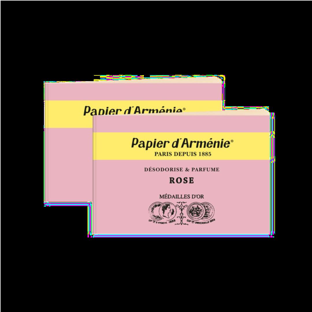 Papier d Arménie - parfümiertes Duftpapier Rose