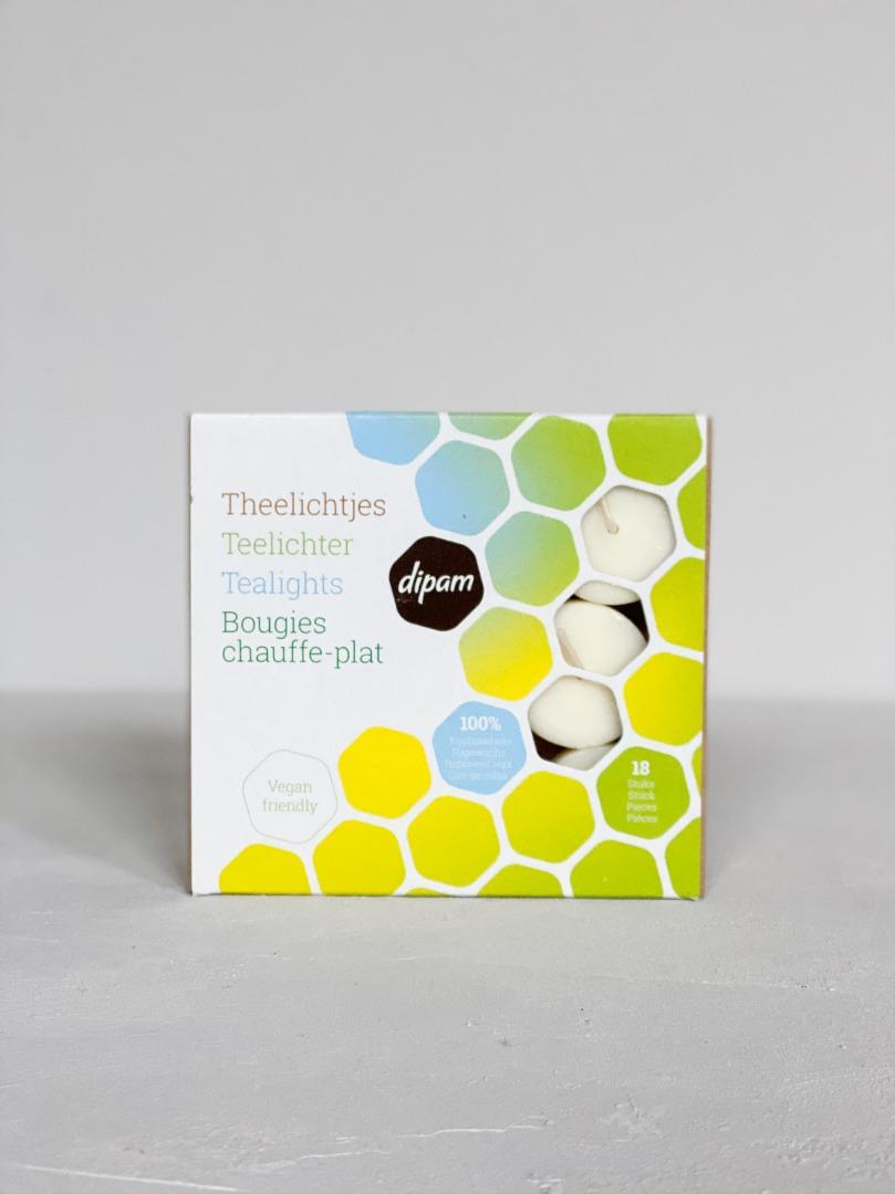 Vegane Teelichter aus Rapsöl