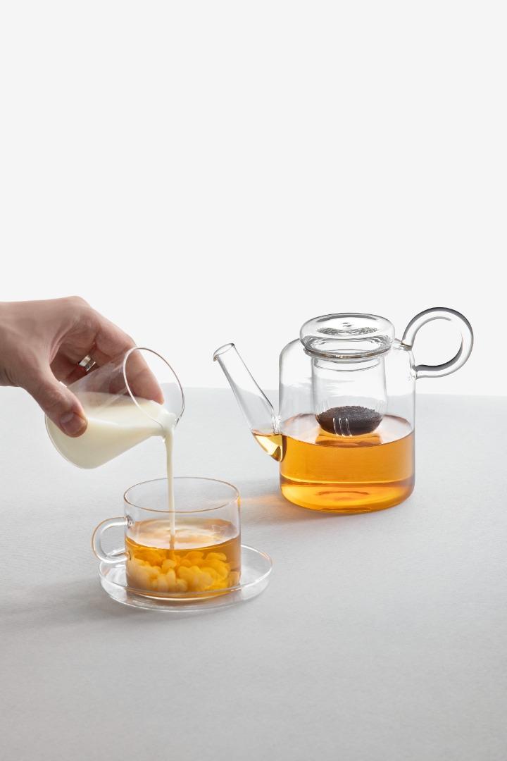 Piuma - Teekanne mit Filter 2