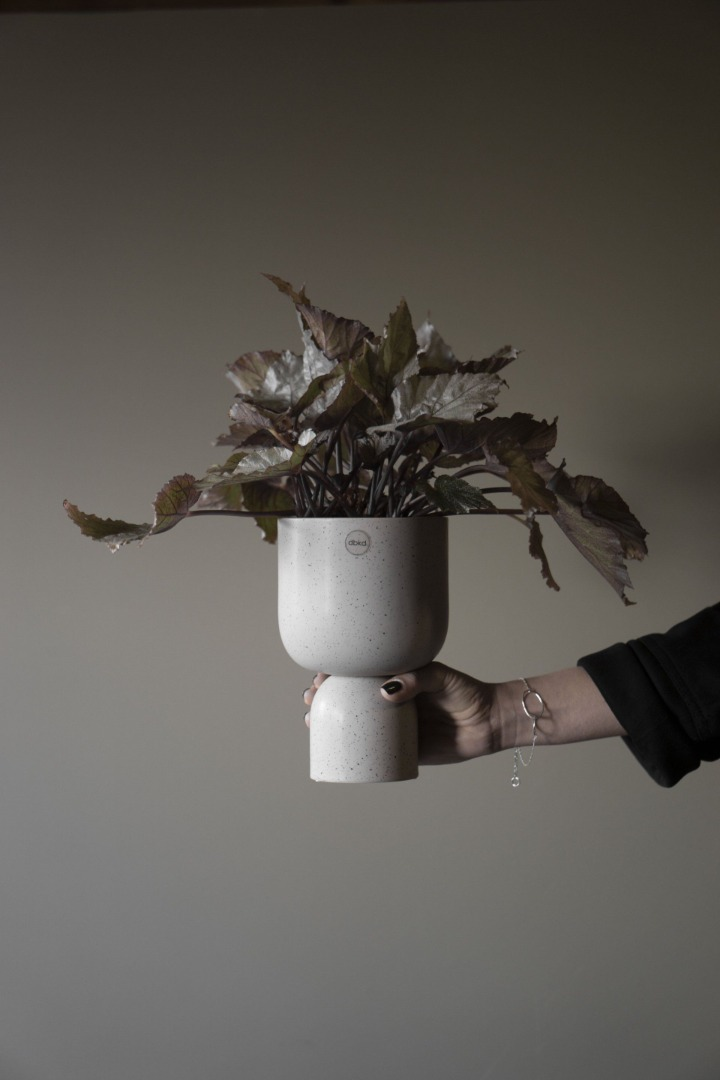 Post Blumentopf klein