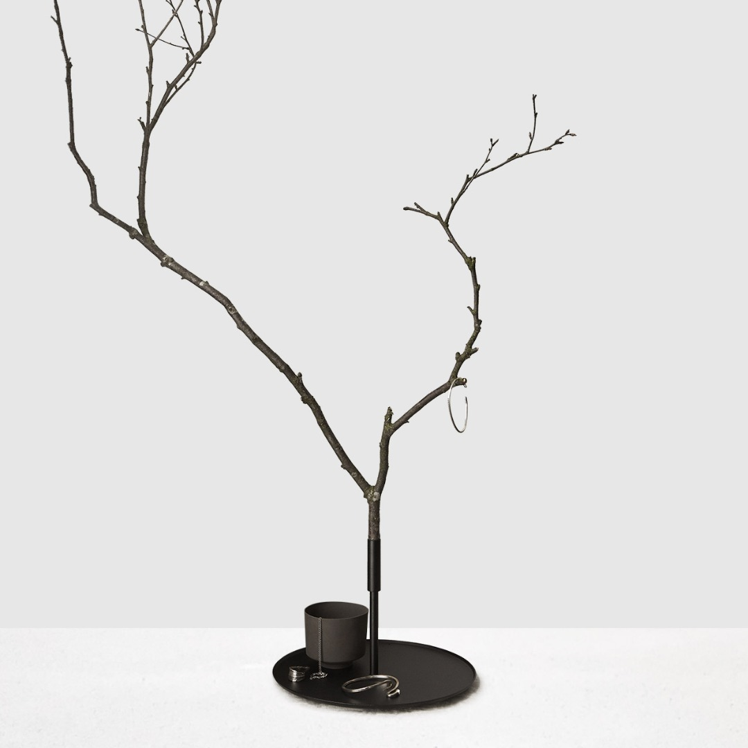 Kerzentablett Trädet 3