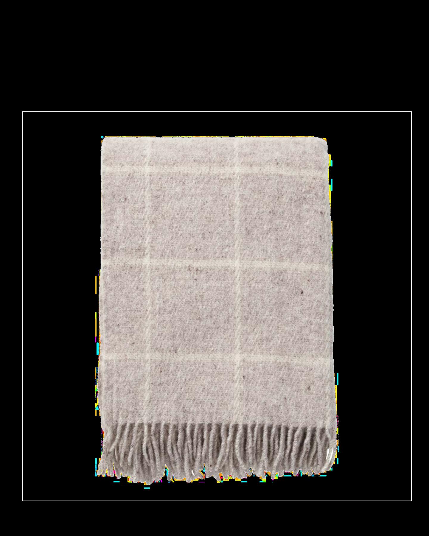 Wolldecke Karomuster 2