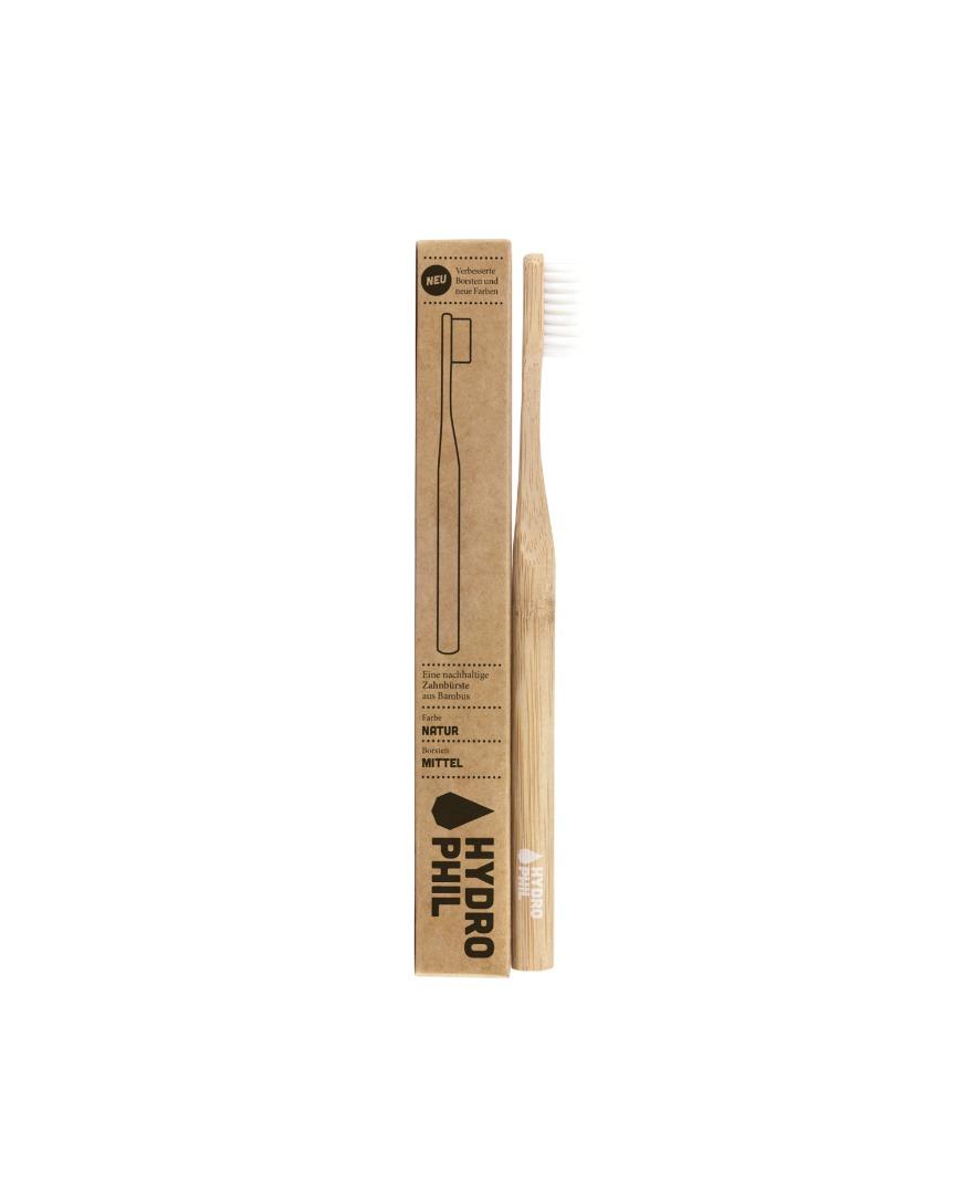 Nachhaltige Zahnbürste aus Bambus 2