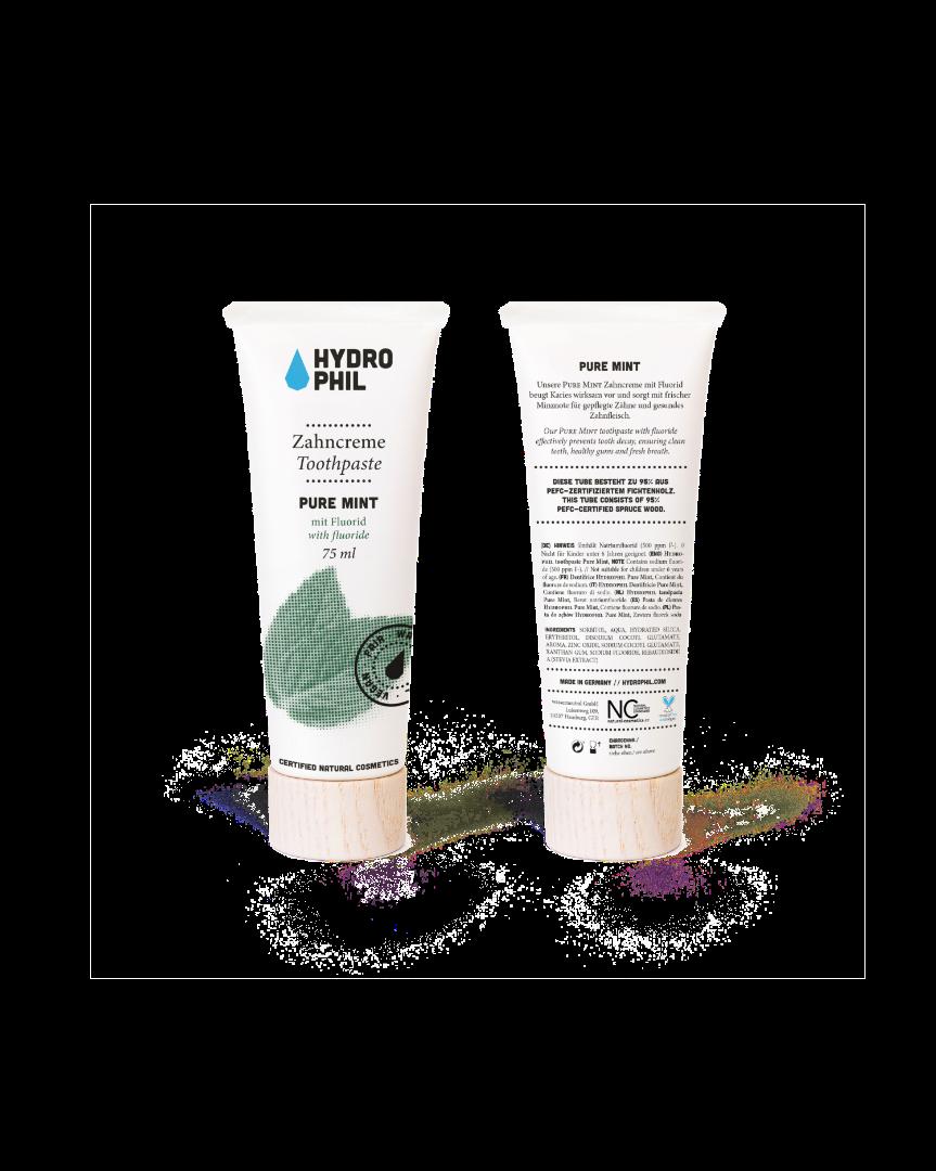 Zahncreme Pure Mint 75ml mit Fluorid