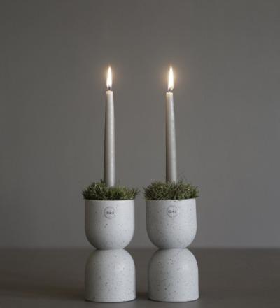 Post Kerzenhalter Wunderschöner Kerzenhalter in zwei