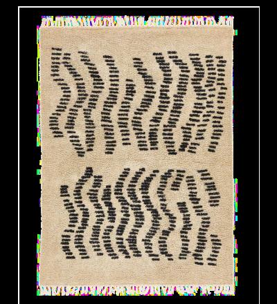 Teppich Dyyni Handgeknüpfter kuschelweicher Teppich Dyyni