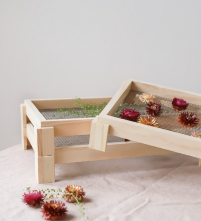 Blumen- Kräutertrockner Ideal zum Trocknen von
