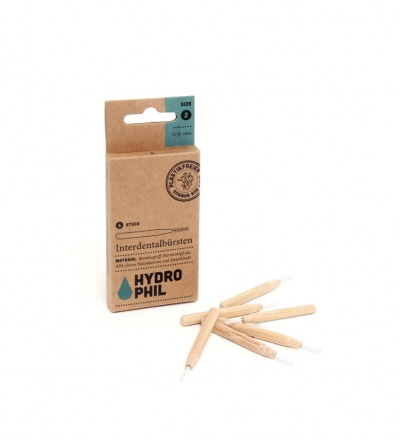 Nachhaltige Interdentalbürsten mit Bambusgriff Nachhaltige Interdentalbürsten