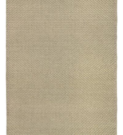 Teppich Keto beige Handgefertigter kuschelweicher Wollteppich