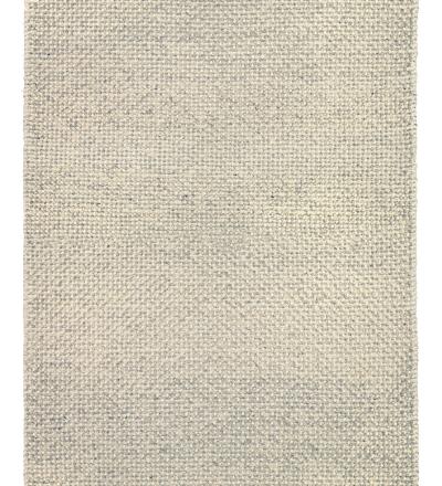 Teppich Keto Grau Handgefertigter kuschelweicher Wollteppich