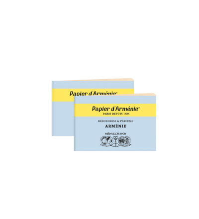 Papier d Arménie parfümiertes Duftpapier Arménie Lufterfrischer