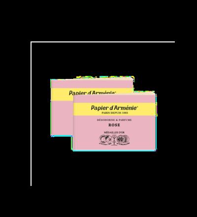 Papier d Arménie parfümiertes Duftpapier Rose Lufterfrischer