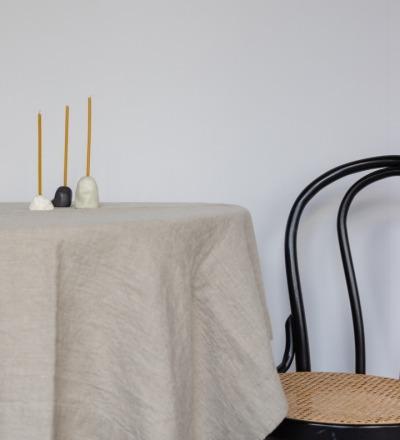 Leinen Tischdecke Natur Ein Must-have: Langlebige