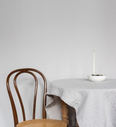 Leinen Tischdecke Silver Ein Must-have: Langlebige