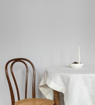 Leinen Tischdecke Natural White Ein Must-have: