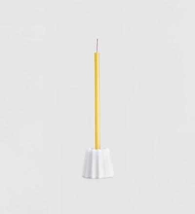 Kerzenhalter Canele aus Porzellan OVO Things