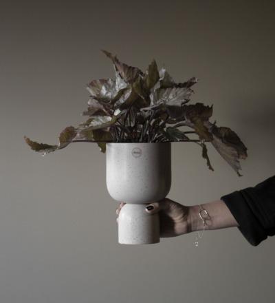 Post Blumentopf klein Wunderschöner großer Blumentopf