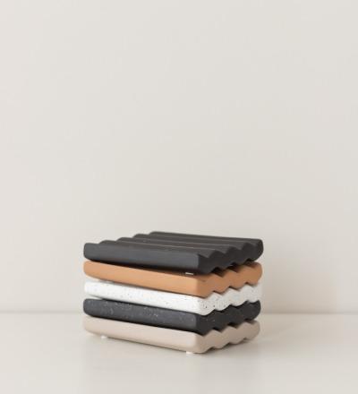 Kleine Seifenablage Wave Kleine Keramik Seifenablage