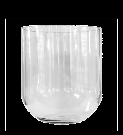 Simple Vase klar Zeitlose formschöne Vase