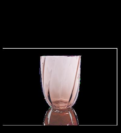 Trinkglas Swirl Mundgeblasenes Trinkglas aus des