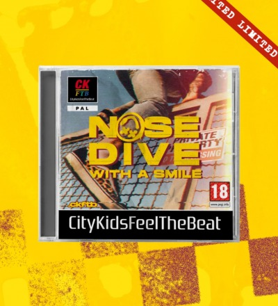 CD Nosedive With Smile -Playstation Edition