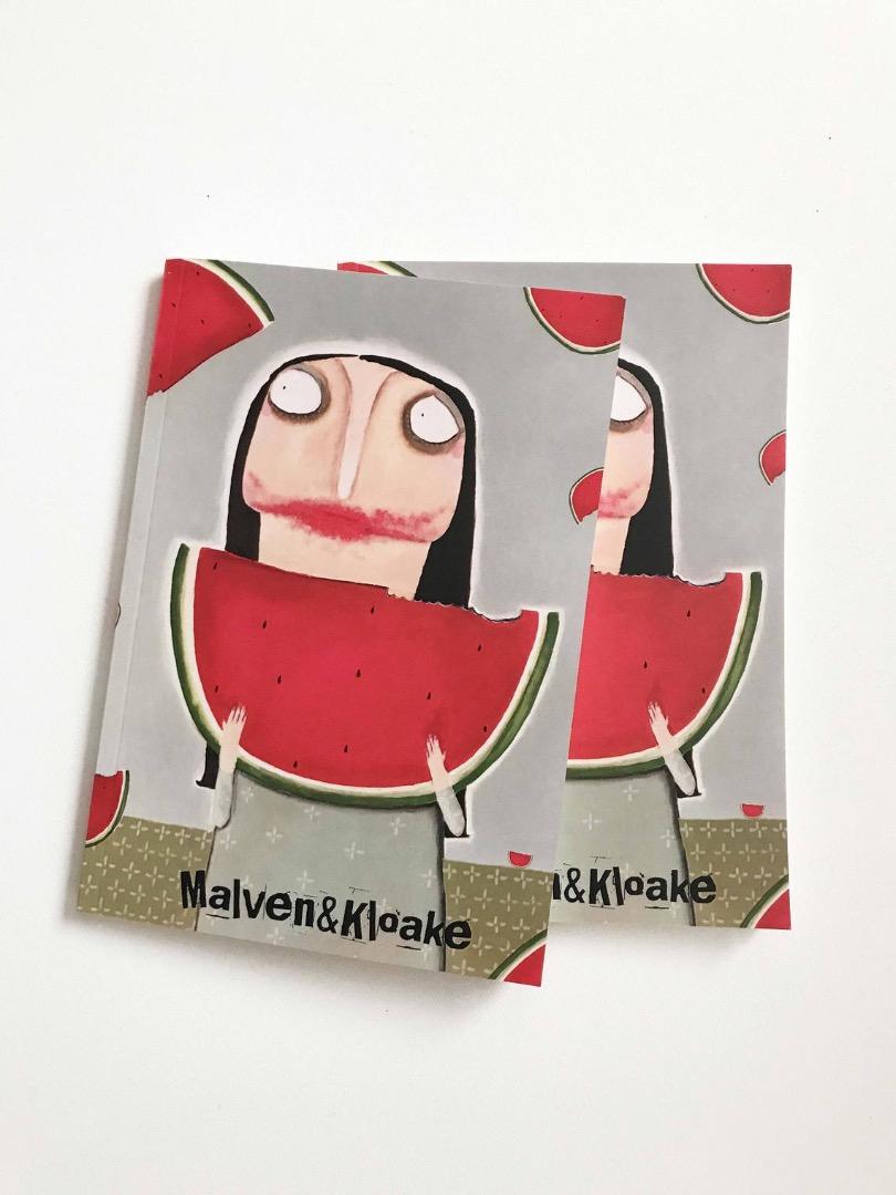 Melonen-Notizbuch Malven&Kloake 3