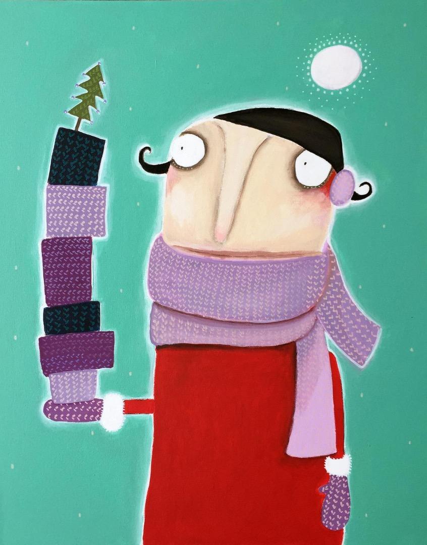 Frau Poloni wünscht bestrickende Weihnachten