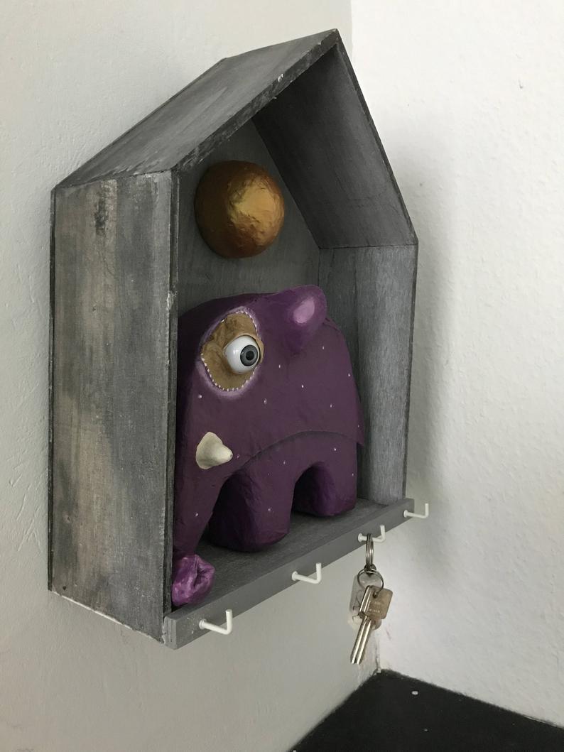 Schlüsselbrett Elefäntchen 4