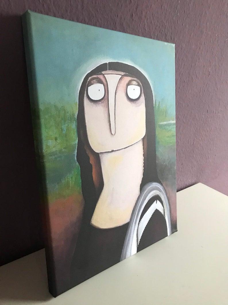 Mona Lisa nach da Vinci 2