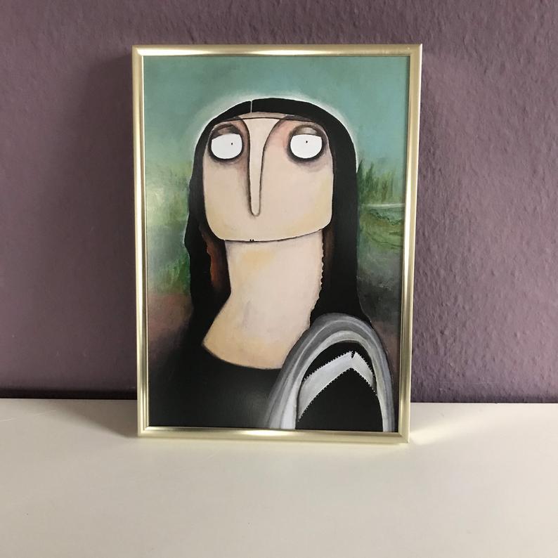 Mona Lisa nach da Vinci