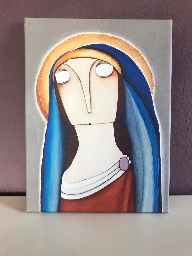 Die Jungfrau Maria