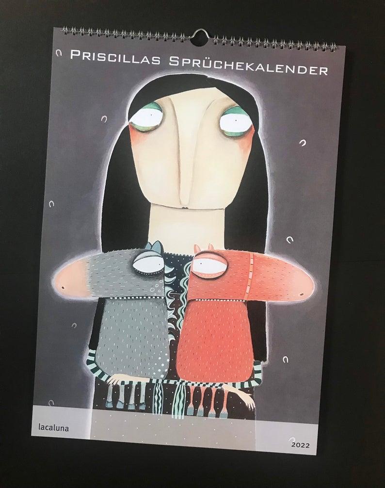 Priscillas Sprüchekalender