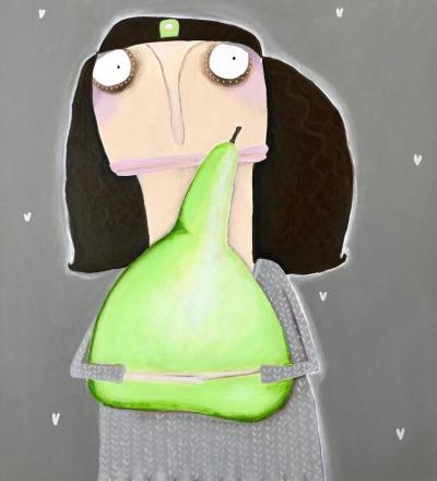 Edna Pitschatzek möchte die Birne lieber
