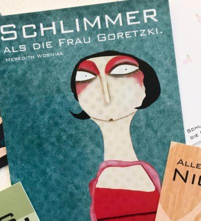 Schlimmer als die Frau Goretzki Kunstpostkarten