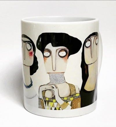 Alte-Meisterinnen-Kaffeebecher - Kaffeebecher