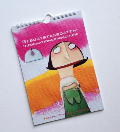 Geburtstagsdateninformationsbroschüre - Geburtstagskalender