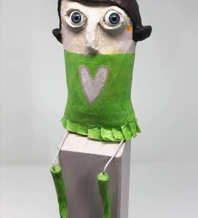Margot Upcycling-Figur - Figur Margot