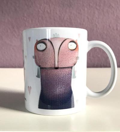 Olga-Kaffeebecher - Katzentasse