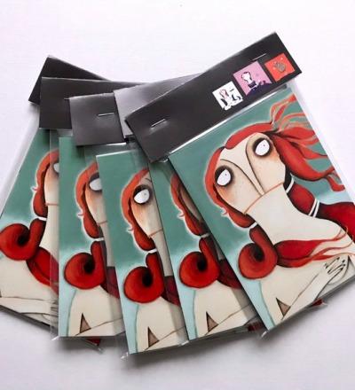 Karten-Set Alte Meisterinnen 10er Set Kunstpostkarten