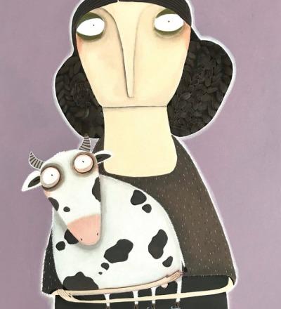 Römhild hat mal wieder ihre Kuh