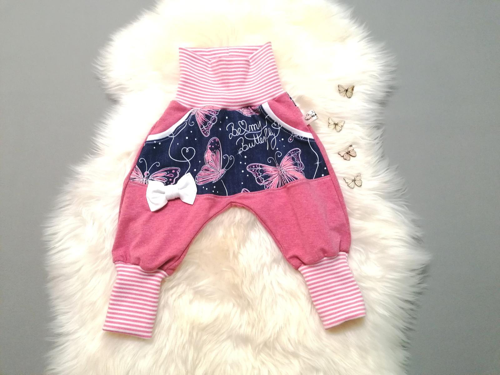 Baby Kind Pumphose Mitwachshose für Mädchen