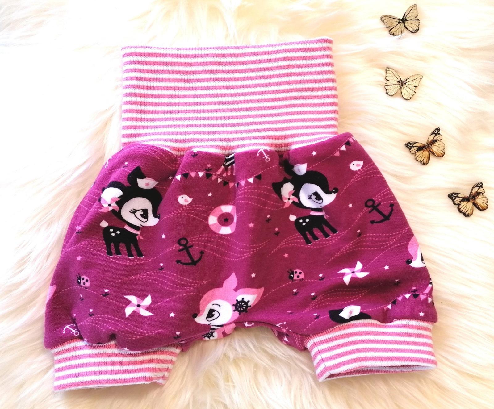 Baby Kind Kurze Pumphose Shorts Hafenkitz