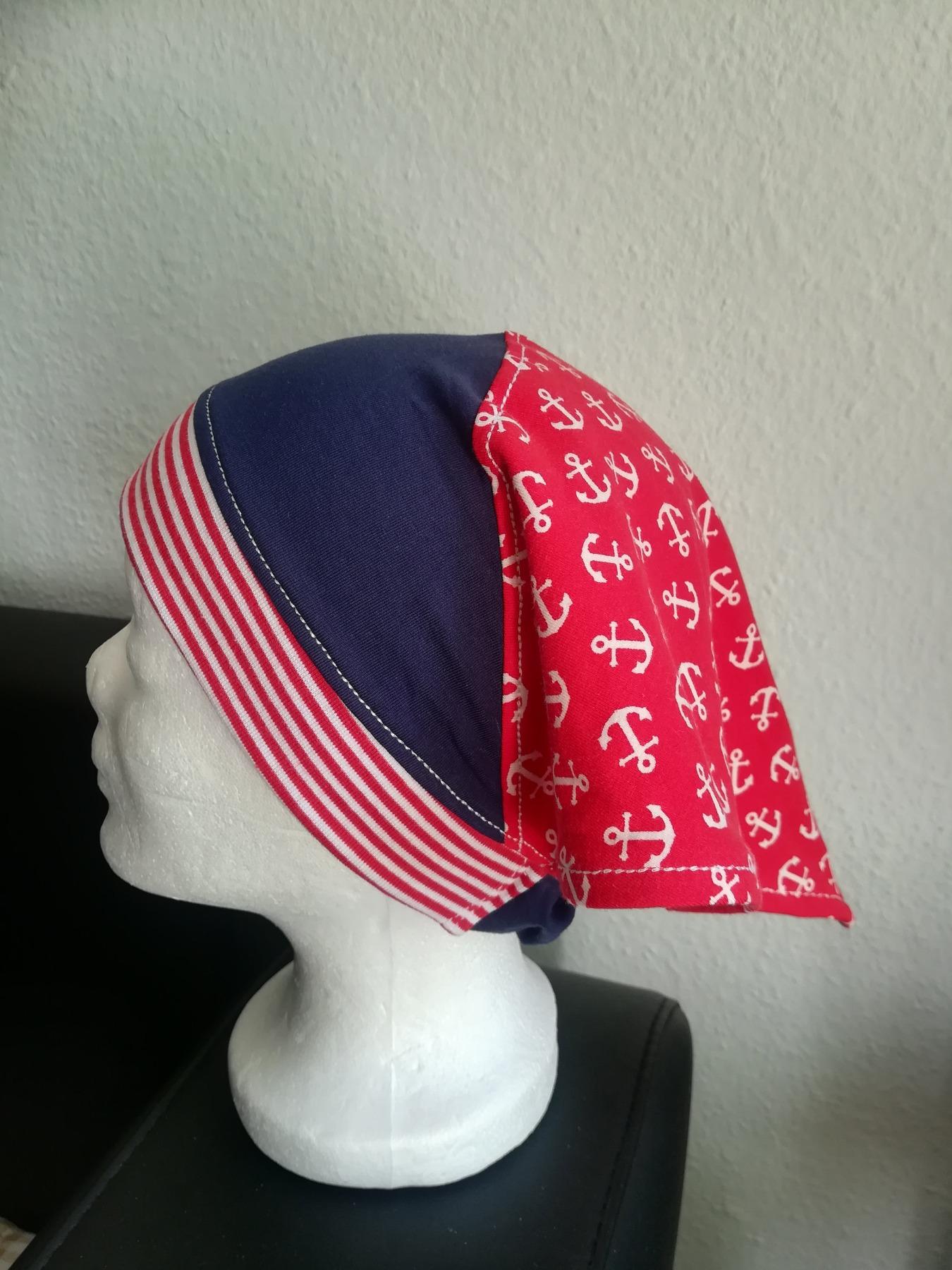 Kopftuch mit oder ohne Schirm für