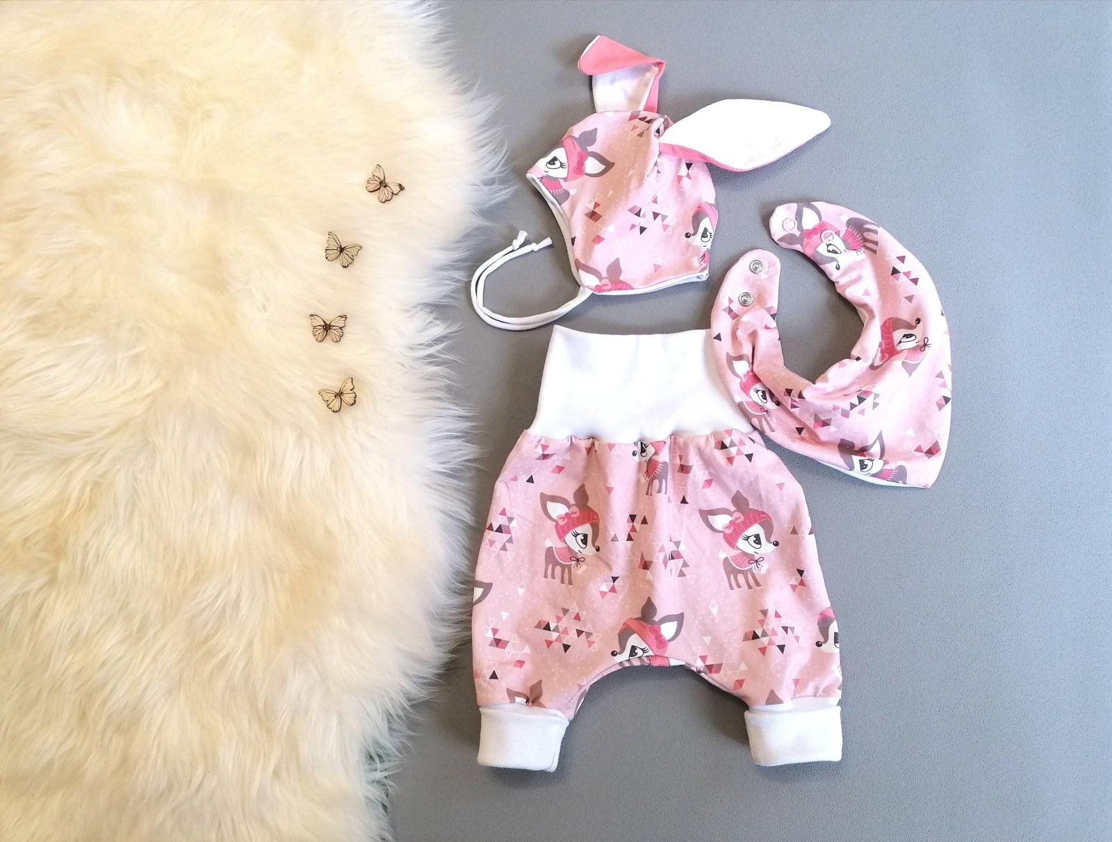 Pumphose Baby Kind Hafenkitz rosé in