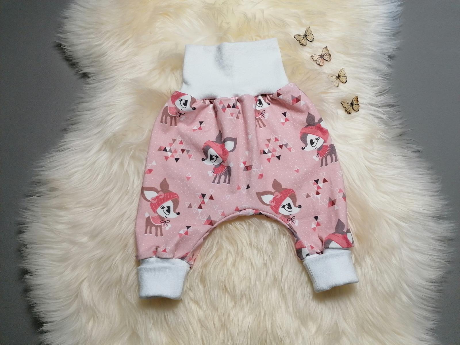 Baby Kind Pumphose Mitwachshose Hafenkitze rosé