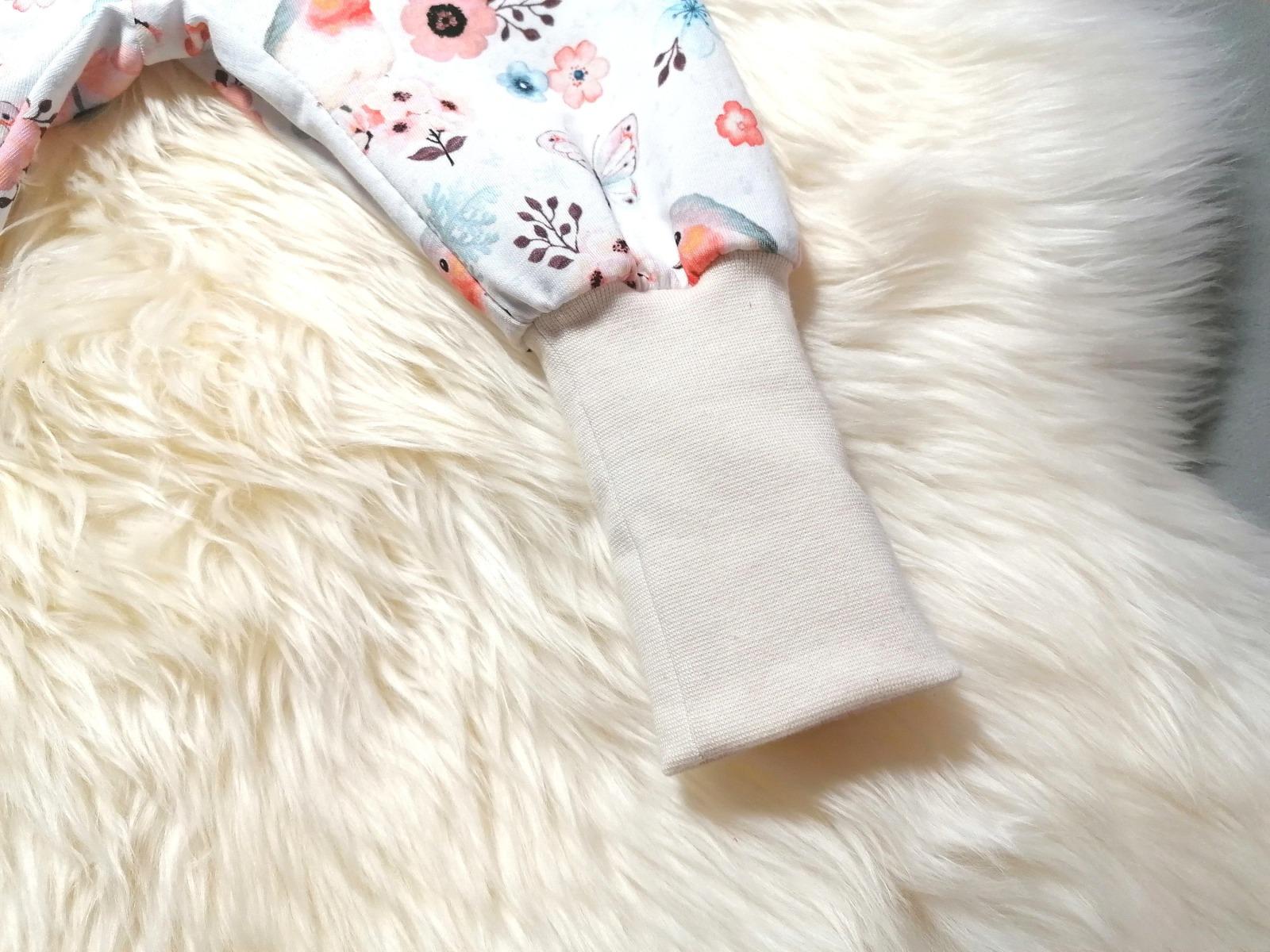 Pumphose Mitwachshose Baby Kind Rotkehlchen creme